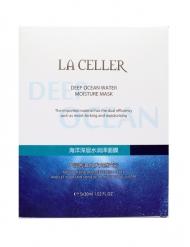 LA CELLER 海洋深层水润泽面膜 5片...