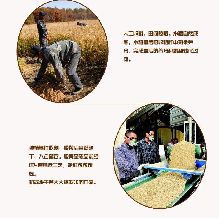 麦考林-龙粹有机稻花香米5kg