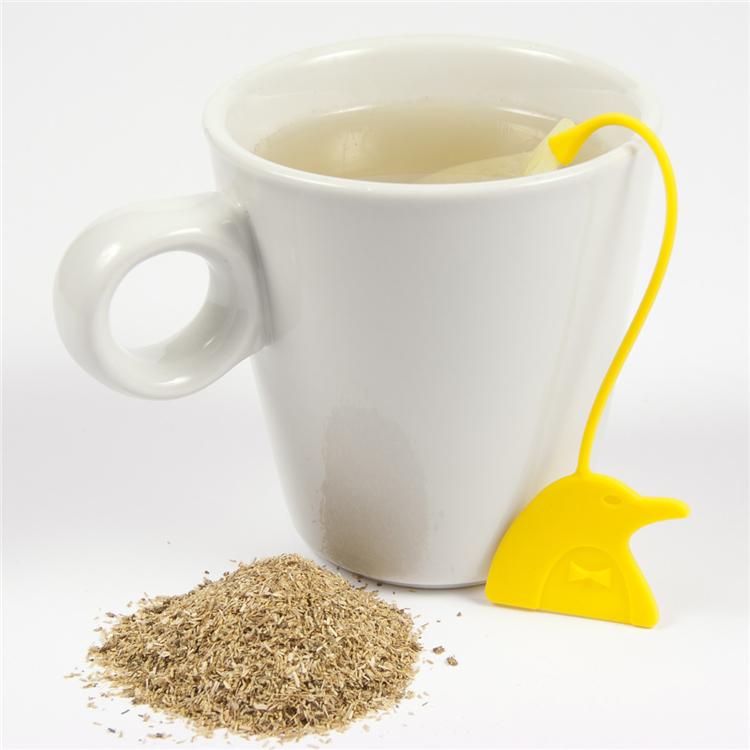 茶叶滤器(黄)