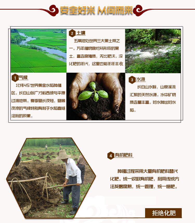 龙粹有机稻花香米1kg